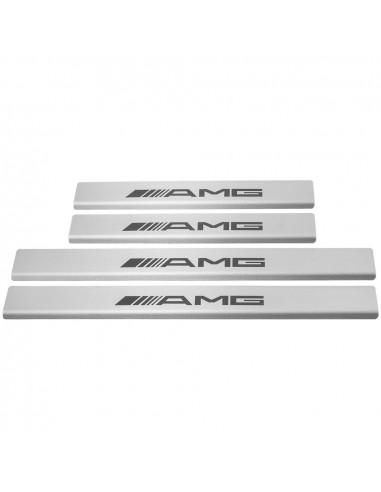 AUDI A4 B8 SLINE Stainless Steel 304 Mirror Finish Interior Door sills kick plates