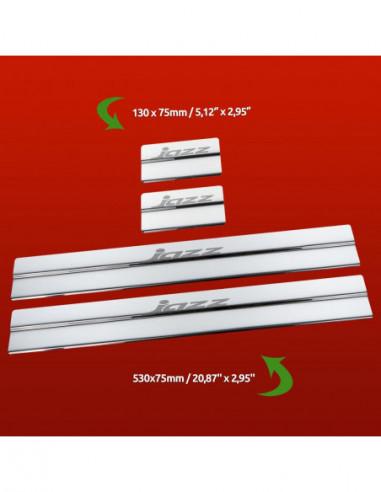 NISSAN MICRA K11 MICRA Stainless Steel 304 Mirror Finish Interior Door sills kick plates