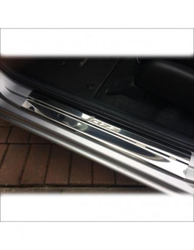 NISSAN MICRA K12 MICRA Stainless Steel 304 Mirror Finish Interior Door sills kick plates
