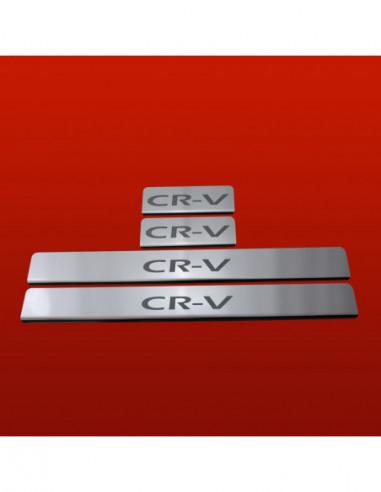 NISSAN MICRA K13 MICRA Stainless Steel 304 Mirror Finish Interior Door sills kick plates