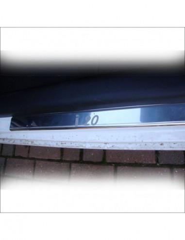 NISSAN JUKE  JUKE Stainless Steel 304 Mirror Finish Interior Door sills kick plates