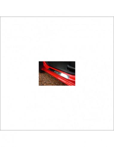 NISSAN NV200  NV200 Stainless Steel 304 Mirror Finish Interior Door sills kick plates