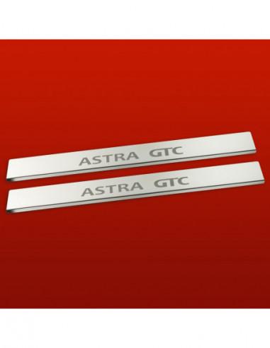 PEUGEOT 407  407 Stainless Steel 304 Mirror Finish Interior Door sills kick plates