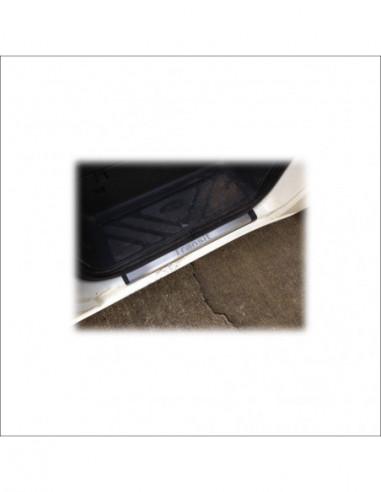 PEUGEOT 206  206 Stainless Steel 304 Mirror Finish Interior Door sills kick plates