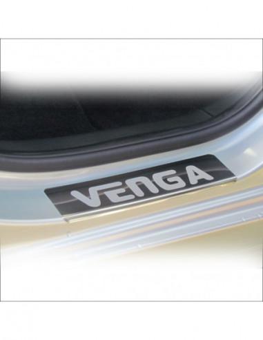 PEUGEOT 307  307 Stainless Steel 304 Mirror Finish Interior Door sills kick plates