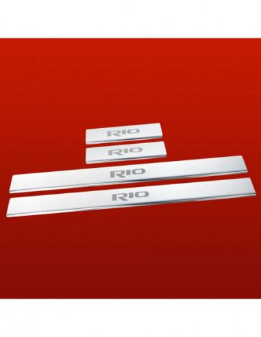 PEUGEOT 306 306 Stainless Steel 304 Mirror Finish Interior Door sills kick plates