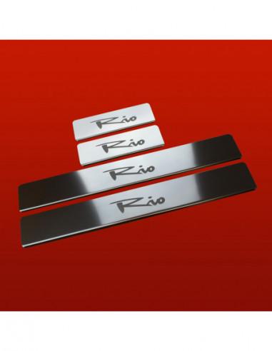 RENAULT MEGANE MK3 MEGANE Stainless Steel 304 Mirror Finish Interior Door sills kick plates