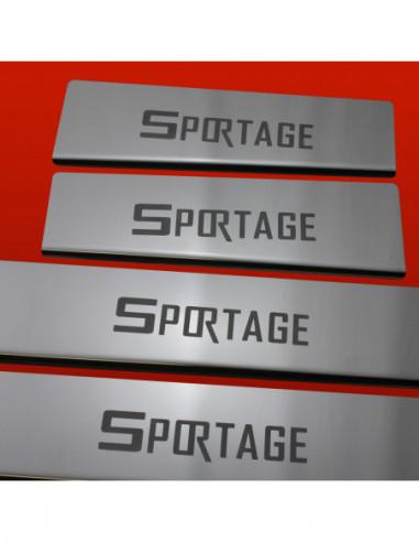 RENAULT MASTER MK2 MASTER Stainless Steel 304 Mirror Finish Interior Door sills kick plates