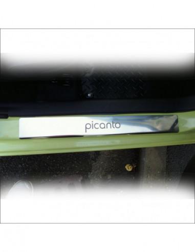 RENAULT MEGANE MK2 MEGANE Stainless Steel 304 Mirror Finish Interior Door sills kick plates