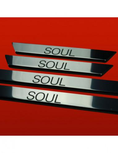 RENAULT SCENIC MK3 SCENIC Stainless Steel 304 Mirror Finish Interior Door sills kick plates