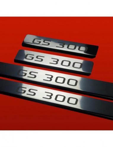RENAULT LAGUNA MK2 LAGUNA Stainless Steel 304 Mirror Finish Interior Door sills kick plates