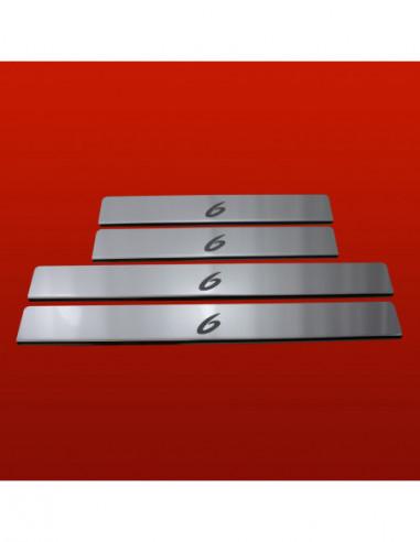 RENAULT TWINGO MK2 TWINGO Stainless Steel 304 Mirror Finish Interior Door sills kick plates