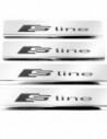 AUDI A4 B6 QUATTRO Stainless Steel 304 Mat Finish Interior Door sills kick plates