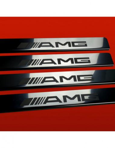 RENAULT FLUENCE  FLUENCE Stainless Steel 304 Mirror Finish Interior Door sills kick plates