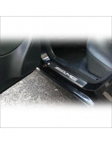 VW TOURAN MK1 TOURAN Stainless Steel 304 Mirror Finish Interior Door sills kick plates