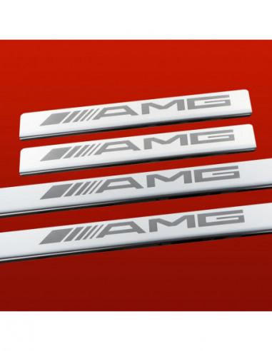 VW TOURAN MK2 TOURAN Stainless Steel 304 Mirror Finish Interior Door sills kick plates