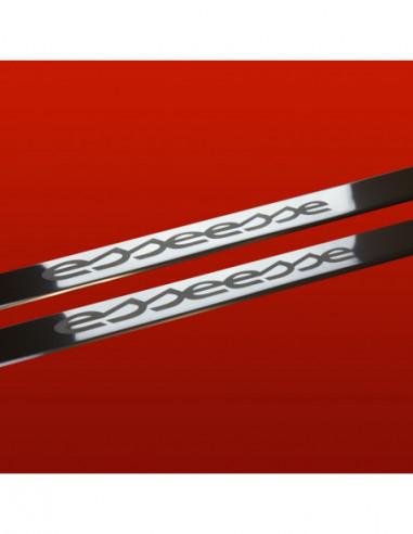 VW SHARAN MK1 SHARAN Stainless Steel 304 Mirror Finish Interior Door sills kick plates