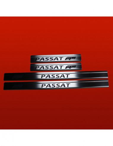 VW SHARAN MK2 SHARAN Stainless Steel 304 Mirror Finish Interior Door sills kick plates