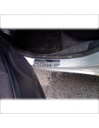 VW SCIROCCO MK3 SCIROCCO RLINE Stainless Steel 304 Mirror Finish Interior Door sills kick plates