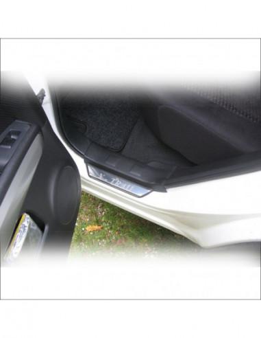 VW POLO MK5 6R POLO Stainless Steel 304 Mirror Finish Interior Door sills kick plates