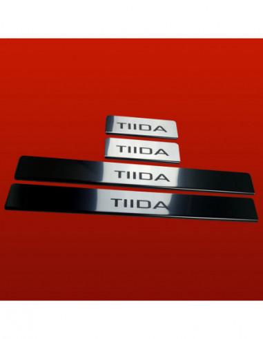 VW PASSAT B5 PASSAT Stainless Steel 304 Mat Finish Interior Door sills kick plates
