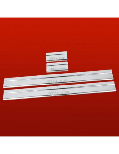 VW PASSAT B6 PASSAT RLINE Stainless Steel 304 Mirror Finish Interior Door sills kick plates