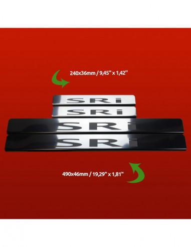 VW GOLF MK4 GOLF Stainless Steel 304 Mirror Finish Interior Door sills kick plates