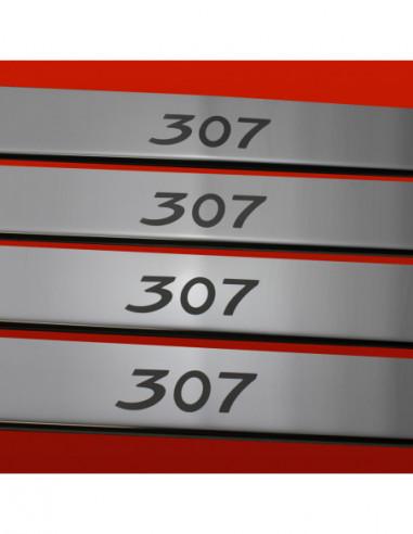 VW GOLF MK5 GOLF Stainless Steel 304 Mirror Finish Interior Door sills kick plates