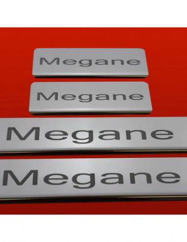 VW NEW BEETLE NEW BEETLE Stainless Steel 304 Mirror Finish Interior Door sills kick plates