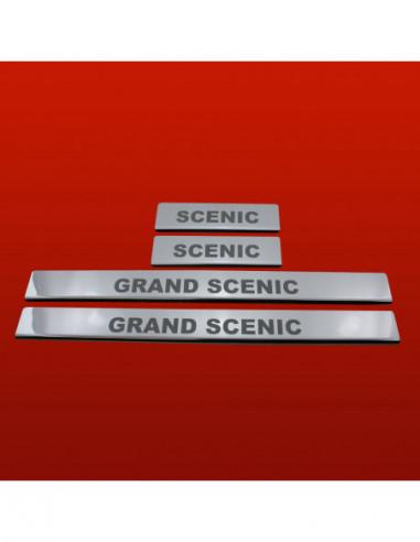 TOYOTA YARIS MK1 YARIS Stainless Steel 304 Mirror Finish Interior Door sills kick plates