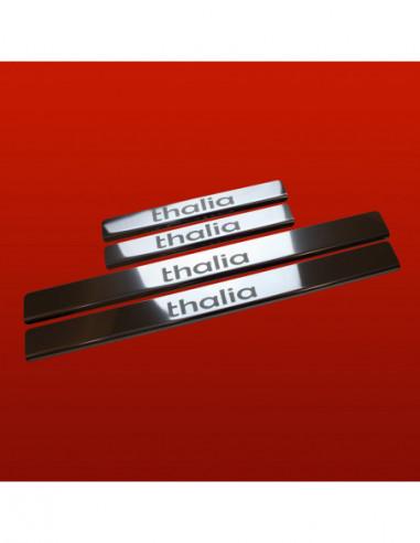 TOYOTA YARIS MK2 YARIS Stainless Steel 304 Mirror Finish Interior Door sills kick plates
