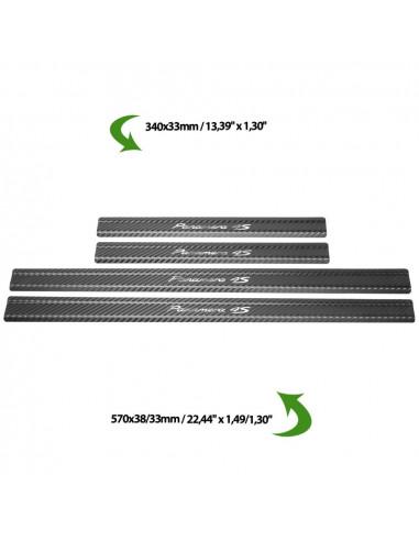 AUDI A4 B7 A4 Stainless Steel 304 Mirror Finish Interior Door sills kick plates