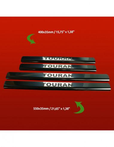SKODA SUPERB MK1 SUPERB Stainless Steel 304 Mirror Finish Interior Door sills kick plates