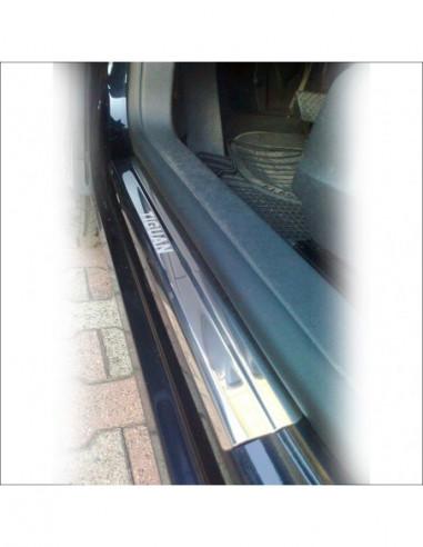 SKODA FABIA MK1 FABIA Stainless Steel 304 Mirror Finish Interior Door sills kick plates
