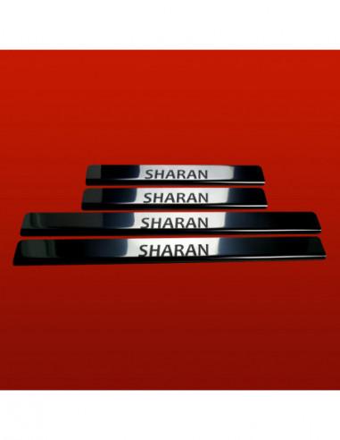 SKODA FABIA MK2 FABIA Stainless Steel 304 Mirror Finish Interior Door sills kick plates