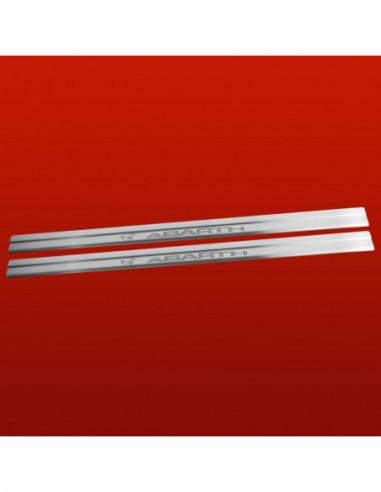 OPEL/VAUXHALL CORSA D CORSA Stainless Steel 304 Mirror Finish Interior Door sills kick plates