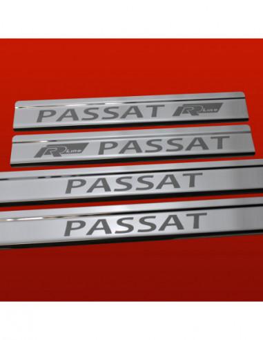 OPEL/VAUXHALL ASTRA MK5/H/III ASTRA Stainless Steel 304 Mirror Finish Interior Door sills kick plates