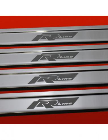 OPEL/VAUXHALL ASTRA MK6/J/IV ASTRA Stainless Steel 304 Mirror Finish Interior Door sills kick plates