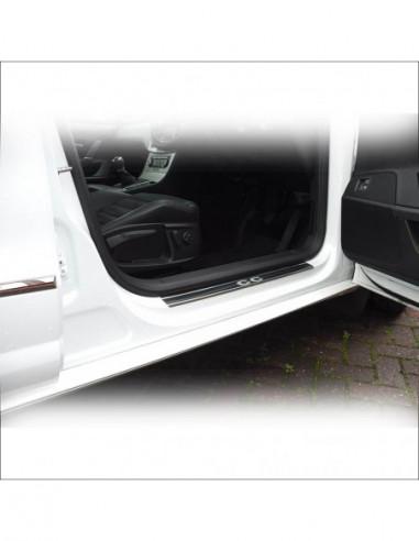OPEL/VAUXHALL ASTRA MK6/J/IV OPC Stainless Steel 304 Mirror Finish Interior Door sills kick plates
