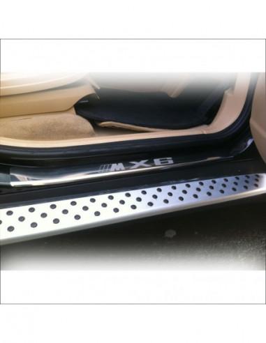BMW X3 E83 M X3 TYPE1 Stainless Steel 304 Mirror Finish Interior Door sills kick plates