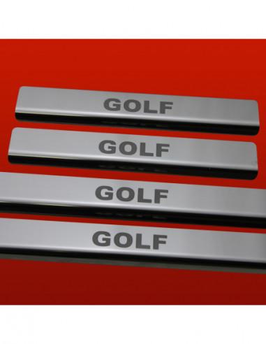 OPEL/VAUXHALL VECTRA C SRI Stainless Steel 304 Mirror Finish Interior Door sills kick plates