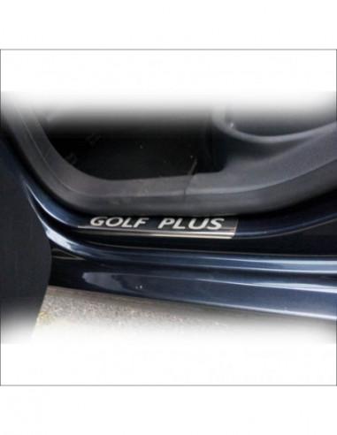OPEL/VAUXHALL MERIVA A OPC Stainless Steel 304 Mirror Finish Interior Door sills kick plates