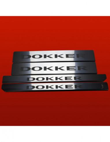 OPEL/VAUXHALL MERIVA A MERIVA Stainless Steel 304 Mirror Finish Interior Door sills kick plates