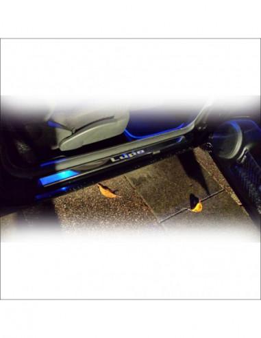 OPEL/VAUXHALL MERIVA B OPC Stainless Steel 304 Mirror Finish Interior Door sills kick plates