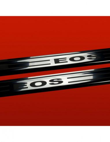 OPEL/VAUXHALL VIVARO MK1 SPORTIVE Stainless Steel 304 Mirror Finish Interior Door sills kick plates