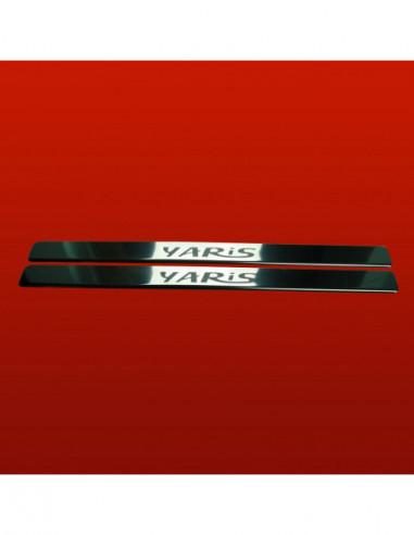 PEUGEOT 307  307 SW Stainless Steel 304 Mirror Finish Interior Door sills kick plates