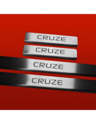 ALFA ROMEO 156  156 Stainless Steel 304 Mirror Finish Interior Door sills kick plates