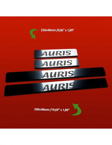 CHEVROLET AVEO  AVEO Stainless Steel 304 Mirror Finish Interior Door sills kick plates