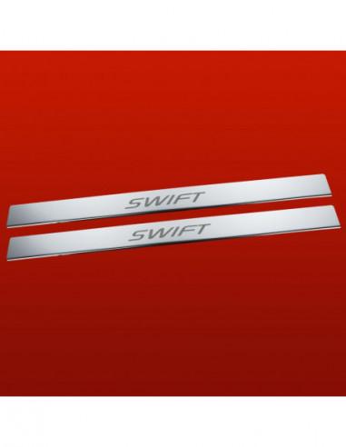 CITROEN C4 PICASSO MK1 C4 PICASSO Stainless Steel 304 Mirror Finish Interior Door sills kick plates