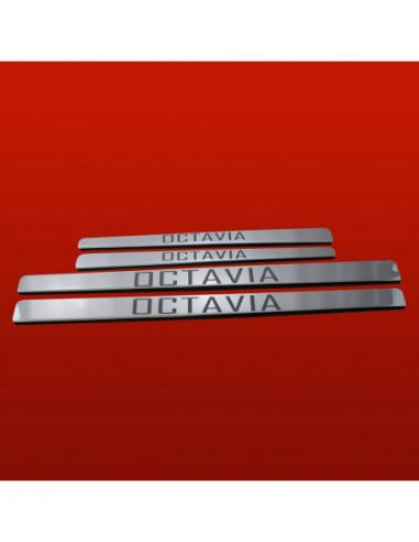RENAULT KOLEOS  KOLEOS Stainless Steel 304 Mirror Finish Interior Door sills kick plates